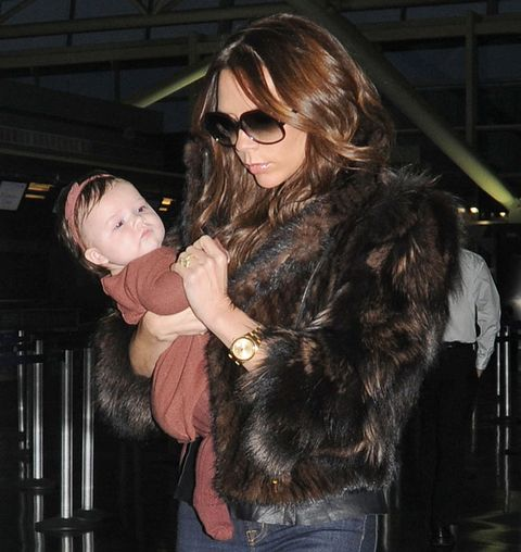 "<p>Victoria loved to dress Harper in matching gear when she was smaller: take this Bonpoint headband, tights and dress for example.</p> <p><a href=""http://www.cosmopolitan.co.uk/fashion/news/victoria-beckham-wellies-vogue"" target=""_blank"">VICTORIA BECKHAM IN WELLIES</a></p> <p><a href=""http://www.cosmopolitan.co.uk/fashion/celebrity/david-victoria-beckham-style?click=main_sr"" target=""_blank"">THE STYLISH RISE OF DAVID AND VICTORIA</a></p> <p><a href=""http://www.cosmopolitan.co.uk/fashion/celebrity/celebrity-style-gallery"" target=""_blank"">CELEBS WEARING CLOTHES, LOOKING GOOD</a></p>"