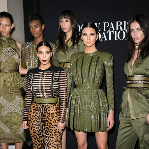 <p>An army of Balmain-clad beauties, including one Kim Kardashian and one Kendall Jenner, rocked Paris last night with their steely but oh-so special gala appearance.</p>