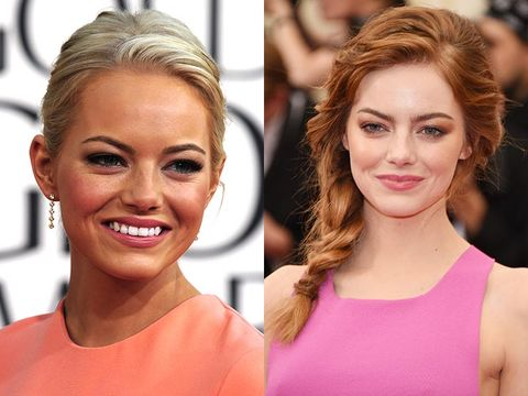 "<p>While Emma has naturally blonde hair, she describes her colouring as that of a redhead, so faking a tan can be a mistake. Her fair skin tone looks better gently kissed by bronzer – not a bottle of Sun Shimmer.</p> <p><a href=""http://www.cosmopolitan.co.uk/beauty-hair/beauty-tips/how-to-get-glowing-skin"" target=""_self"">10 WAYS TO GET GLOWING SKIN WITHOUT MAKEUP</a></p> <p><a href=""http://www.cosmopolitan.co.uk/beauty-hair/beauty-tips/8-reasons-wear-less-makeup"" target=""_self"">8 REASONS TO WEAR LESS MAKEUP (& LOOK AMAZE FOR IT)</a></p> <p><a href=""http://www.cosmopolitan.co.uk/beauty-hair/news/styles/celebrity/summer-celebrity-hair-colour-ideas"" target=""_self"">SUMMER HAIR COLOUR INSPIRATION FROM CELEBRITIES</a></p>"