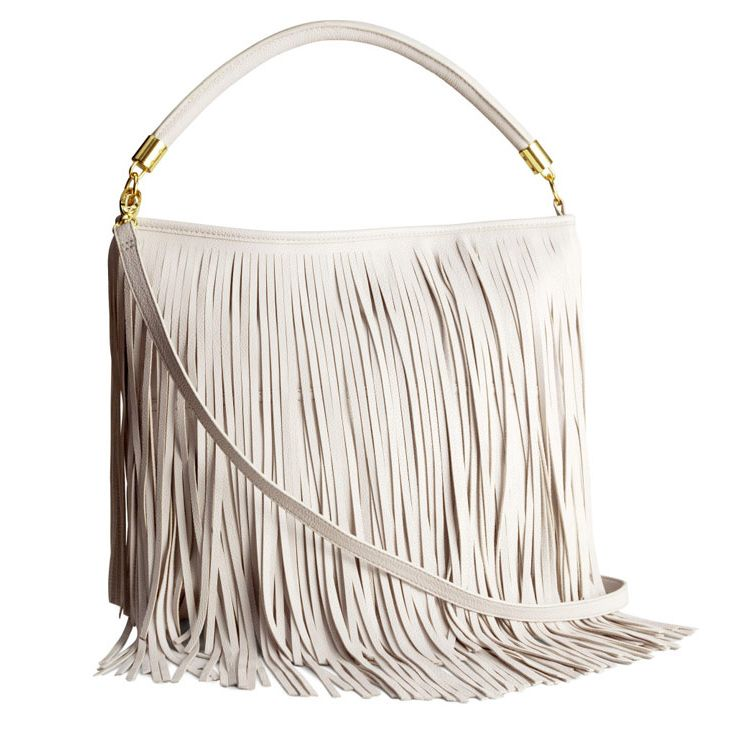 """<p>Tackle tassles in style thanks to this H&M shoulder bag.</p><p><a href=""""http://www.hm.com/gb/product/31499?article=31499-B"""" target=""""_blank"""">Shoulder bag, £19.99, H&M</a></p>"""