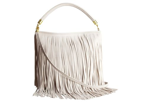 """<p>Tackle tassles in style thanks to this H&M shoulder bag.</p> <p><a href=""""http://www.hm.com/gb/product/31499?article=31499-B"""" target=""""_blank"""">Shoulder bag, £19.99, H&M</a></p>"""