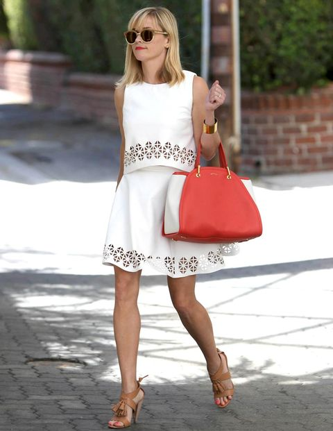 "<p>Reese Witherspoon has us pretty blown away over this summery, white two piece. Ps, we want ALL of her accessories.</p> <p><a href=""http://www.cosmopolitan.co.uk/fashion/news/rihanna-long-sleeved-bikini-trend"" target=""_blank"">RIHANNA'S LONG-SLEEVED BIKINI: HOT OR NOT?</a></p> <p><a href=""http://www.cosmopolitan.co.uk/fashion/news/outfits-paris-haute-couture-fashion-week"" target=""_blank"">10 OUTRAGEOUS HAUTE COUTURE GOWNS WE WANT</a></p> <p><a href=""http://www.cosmopolitan.co.uk/fashion/news/harper-beckham-clothes"" target=""_blank"">HARPER BECKHAM'S DESIGNER STYLE CV</a></p>"