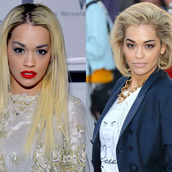 """<p>Rita changes her hair length as often as we have hot dinners, but we're major fans of her sans extensions. This bob is sleek and chic.</p><p><a href=""""http://www.cosmopolitan.co.uk/beauty-hair/news/trends/celebrity-beauty/celebrities-with-tans-better-pale"""" target=""""_self"""">10 CELEBS WHO LOOK BETTER WITHOUT FAKE TAN</a></p><p><a href=""""http://www.cosmopolitan.co.uk/beauty-hair/news/styles/celebrity/summer-celebrity-hair-colour-ideas"""" target=""""_self"""">SUMMER HAIR COLOUR INSPIRATION FROM CELEBRITIES</a></p><p><a href=""""http://www.cosmopolitan.co.uk/beauty-hair/news/styles/celebrity/celebrity-plaits-and-braids"""" target=""""_self"""">THE PRETTIEST PLAITS AND BRAIDS</a></p>"""