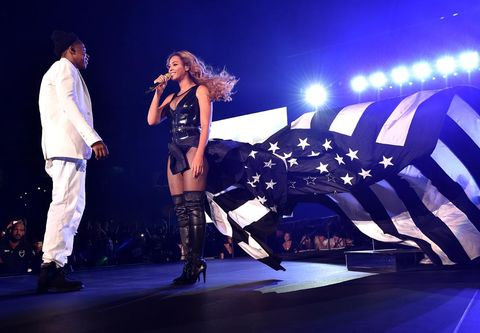 "<p>Who did Beyoncé choose to create her showstopping, patriotic finale ensemble? Ricardo Tisci at Givenchy obviously. </p> <p><a href=""http://www.cosmopolitan.co.uk/fashion/shopping/best-summer-swimwear"" target=""_blank"">SUMMER SWIMWEAR? SORTED</a></p> <p><a href=""http://www.cosmopolitan.co.uk/fashion/celebrity/celebrity-style-july-2014"" target=""_blank"">WHAT THE CELEBS ARE WEARING</a></p> <p><a href=""http://www.cosmopolitan.co.uk/fashion/shopping/best-mirrored-sunglasses"" target=""_blank"">13 MIRRORED SUNNIES YOU SHOULD OWN</a></p>"