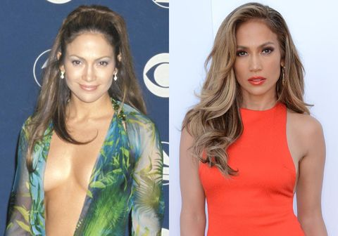 <p>As J-Lo turns 45-years-old - and still looks exactly like she did 15 years ago - we take a look back over her satorial CV.</p> <p>From <em>that</em> green Versace dress, numerous bum-hugging dresses and her influence on making gold hoop earrings and the Croydon facelift cool again, there's been a lot to take in over the years.</p> <p>So, what have we learned from J-Lo's style?</p> <p><em><strong>Click through the gallery to find out...</strong></em></p>