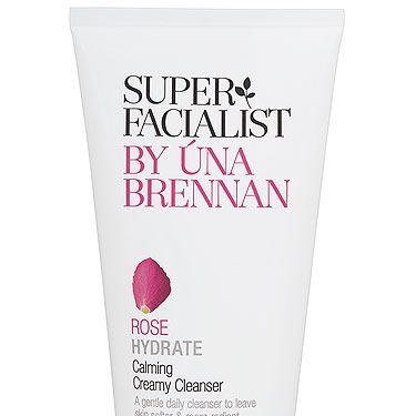 """<p>""""This must be the softest, creamiest cleanser I've ever tried&#x3B; I can't stop massaging my face with it, which is exactly what a facialist would do (massage is anti-ageing and glow-giving, don't you know). It smells faintly of rose and is full of beautiful nourishing ingredients. Love it.""""</p><p>Rose Hydrate Calming Creamy Cleanser, £8.99, Super Facialist by Una Brennan available at <a title=""""http://www.boots.com/"""" href=""""http://www.boots.com/"""" target=""""_blank"""">Boots</a></p>"""