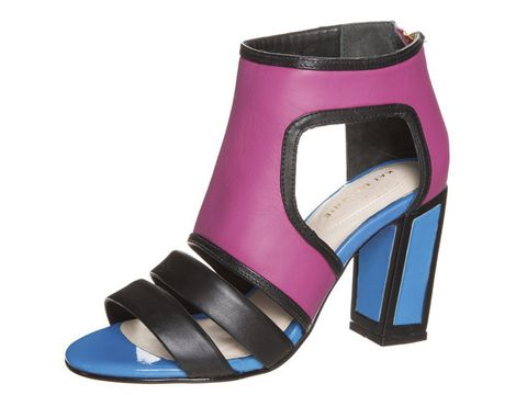 "<p>For a bit of designer chic, I can't resist <a href=""http://www.zalando.co.uk/kat-maconie-georgia-high-heeled-sandals-pink-km311b00b-j11.html"" target=""_blank"">Kat Maconi's irreverent, blocky, graphic heels</a>.  The colour combinations are genius and the heels are super comfortable. They look great with rolled up faded jeans, £185.</p> <p><a href=""http://www.cosmofashfest.co.uk/vote#main-content"" target=""_blank"">COSMO FASHION AWARDS: VOTE FOR YOUR FAVOURITE BRAND FOR HEELS</a></p> <p><a href=""http://www.cosmofashfest.co.uk/"" target=""_blank"">BUY TICKETS TO FASHFEST</a></p>"