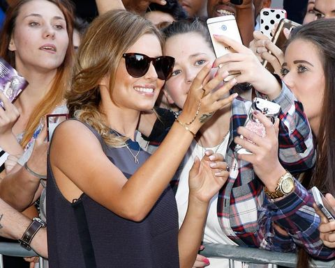 "<p>The new Mrs Fernandez-Versini, or Cheryl, Chezza, Chez as you might refer to her, looked the picture of happiness as she arrived at the Radio One studios to promote her single Crazy Stupid Love.</p> <p>The singer was dressed for the gorgeous British weather in head-to-toe designer and was happy to pose for selfies with fans wearing her summery shades.</p> <p><em><strong>Click through the gallery to see Cheryl's amazing look and other celebs who have been hitting the style high notes this week...</strong></em></p> <p><a href=""http://www.cosmopolitan.co.uk/fashion/shopping/best-summer-swimwear"" target=""_blank"">20 SWIMSUITS THAT WILL MAKE YOU LOOK GREAT</a></p> <p><a href=""http://www.cosmopolitan.co.uk/fashion/news/selena-gomez-italian-style-streak"" target=""_blank"">SELENA GOMEZ' ITALIAN STYLE STREAK</a></p> <p><a href=""http://www.cosmopolitan.co.uk/fashion/news/selena-gomez-italian-style-streak"" target=""_blank"">THE BEST MIRRORED SUNGLASSES</a></p> <div> </div> <p><em><strong><br /></strong></em></p>"