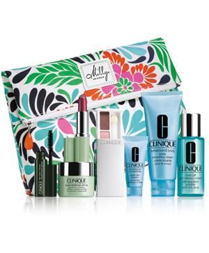 Free Makeup Bag By Milly With Clinique