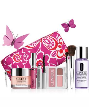 sc 1 st  Cosmopolitan & Free Clinique gift set at Debenhams