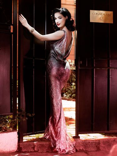 4a31dd8bb Dita Von Teese reveals her vintage fashion and style tips