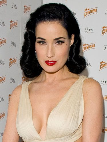 Dita Von Teese shares her beauty and makeup tips