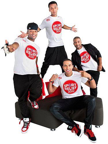 JLS release Sport Relief song