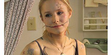 Watch Kristen Bell Show Off Her 214 Tattoos