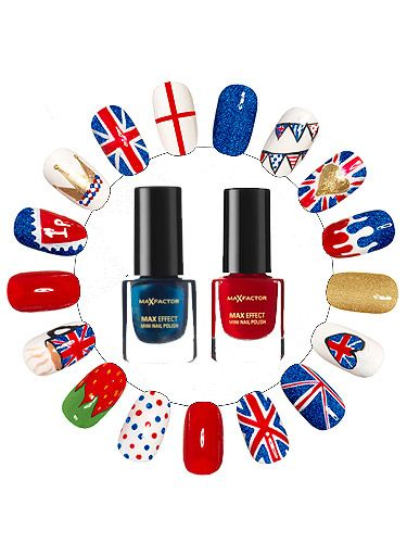 Diy union jack nail art prinsesfo Image collections