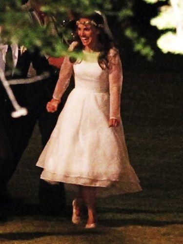 Natalie Portman S Beautiful Rodarte Wedding Dress Revealed On Twitter