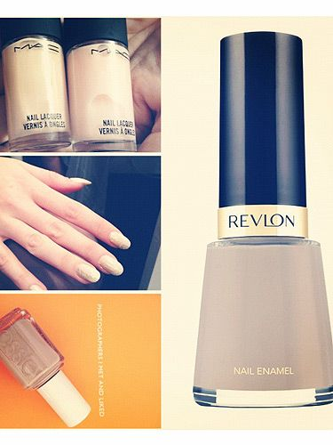 Nude nails reign backstage at London Fashion Week for SS13