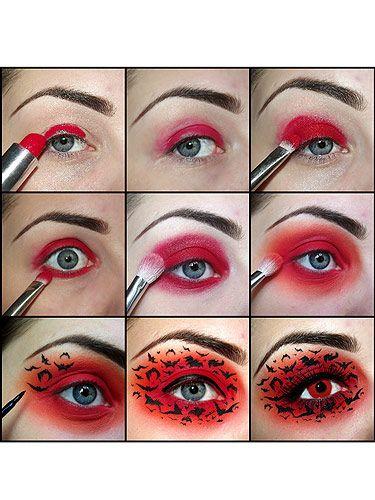 Get the look: Halloween eye makeup