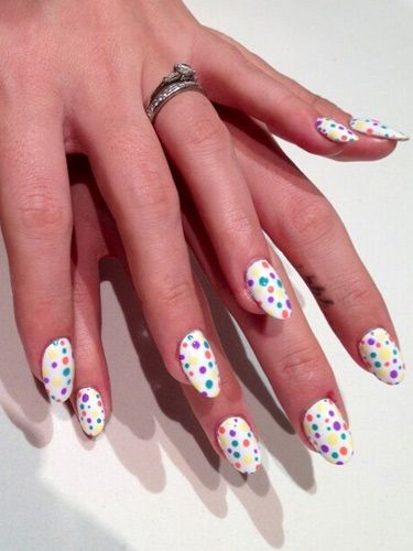 Lily Allens Nail Art How To Tips