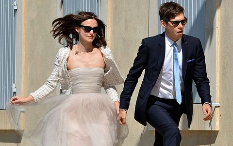 James Righton on his BIG day to Keira Knightley: