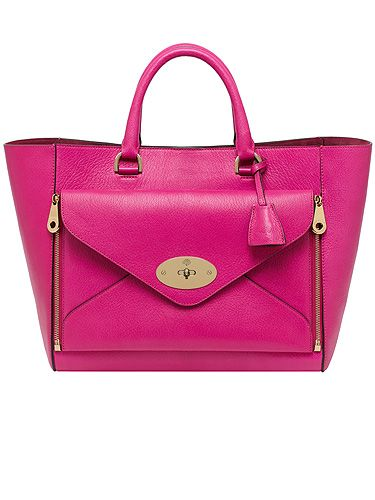 Pretty In Pink Mulberry Introduce New Colours To The Willow Bag Collection