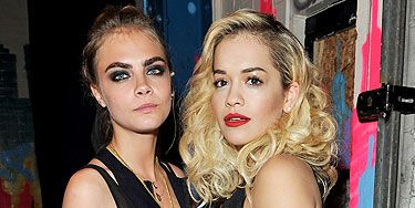 ca2e10d75bec49 Rita Ora denies rumours that she's fallen out with Cara Delevingne