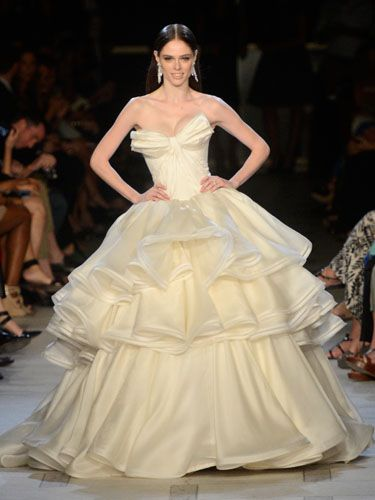 fa5e2de64d5 Zac Posen unveils debut bridal collection