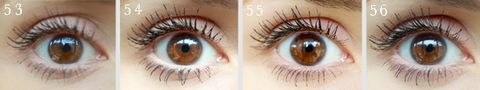 See 100 Different Mascaras Tested On ONE Eye    | Beauty, Homepage