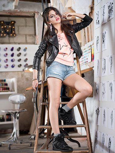 Selena Gomez models Adidas NEO collection df5e96e01