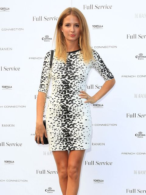 5b0252473c2 Millie Mackintosh is back from the Balearics and looking scorching in  London.