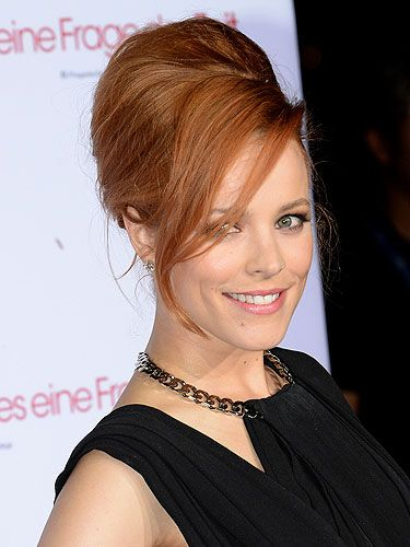 Hair news rachel mcadams has 60s bouffant rachel mcadams brought the glam back to red carpet hair as she sizzled in front of the flashbulbs for a special screening of about time in munich on urmus Image collections
