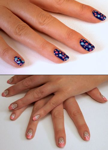 How to do easy nail art video guide using dotting tool a dotting tool is a nail artists ultimate accessory costing less than a polish it can transform your nail colour collection into multiple new looks prinsesfo Gallery