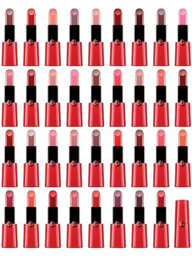Giorgio Armani S New Lipsticks Meet The Cc Skincare Lipstick