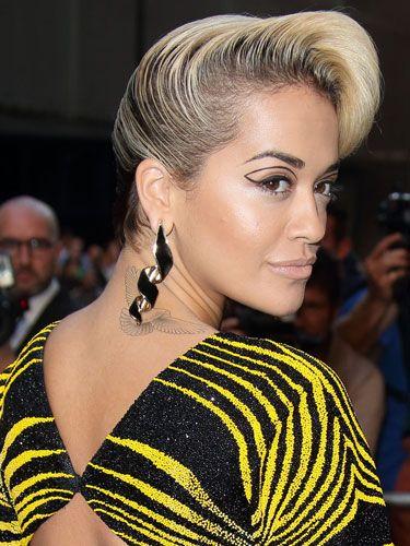 Hair News Rita Ora S Hair Takes To New Heights At Gq Awards