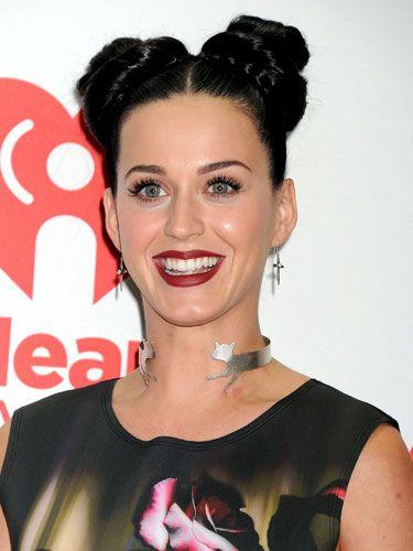 Hair News Katy Perry Does Princess Leia Style Double Buns