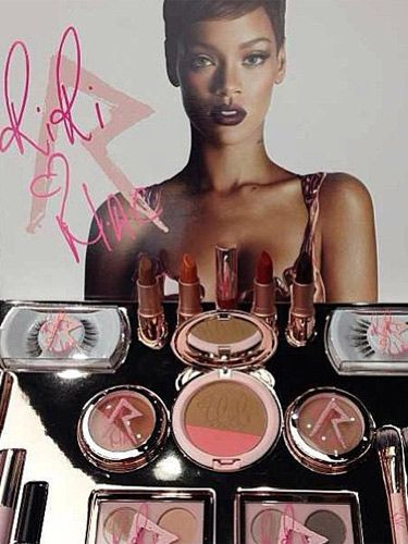 As We Recently Reported The New Autumn Winter Collection Of Riri Hearts Mac Makeup Is Dropping Into Stores This October And Over On Instagram Rihanna Is