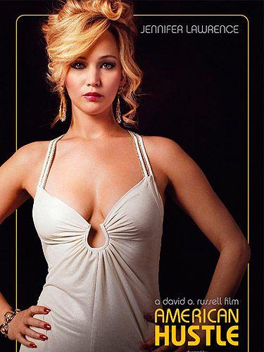 See Jennifer Lawrence In New American Hustle Poster American Hustle 2013