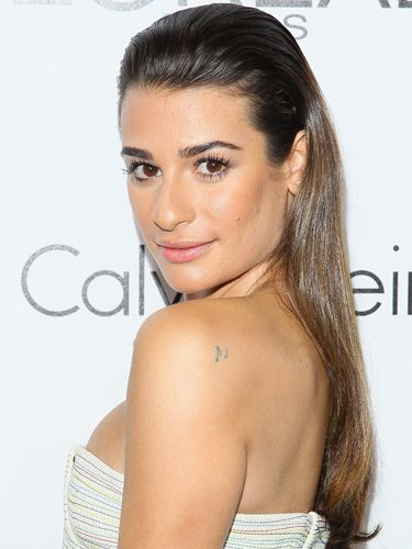 Lea Micheles Wet Look Hairstyle At Elle Woman In Hollywood 2013