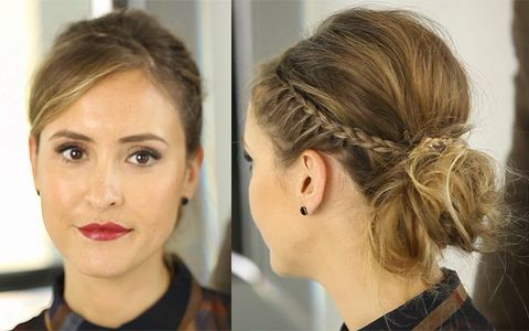 How To Do A Party Hairstyle Up Do For Christmas 2013