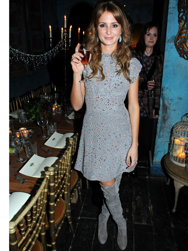 bb3bc2ce06 Millie Mackintosh thigh-high boots    Celebrity style news