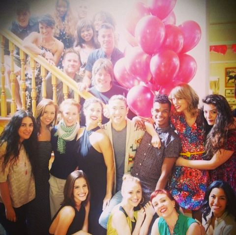 Go Inside Taylor Swift S 24th Birthday Party Taylor Swift S Birthday Party Photos On Instagram
