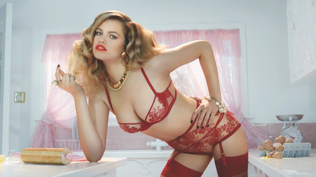Hot wives lingerie
