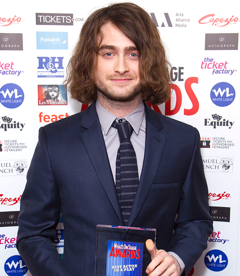 Daniel radcliffe and his long hair extensions join rupert grint at advertisement continue reading below pmusecretfo Choice Image