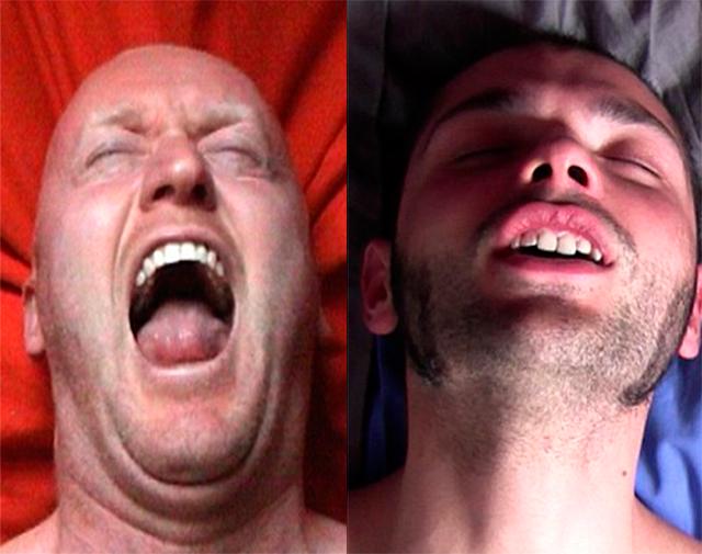 Orgasm face porn