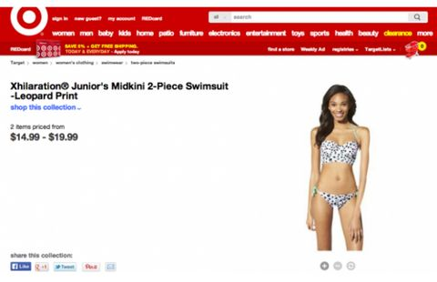 6af0ddde0f87c Target Photoshops thigh gap onto teen model    Fashion news