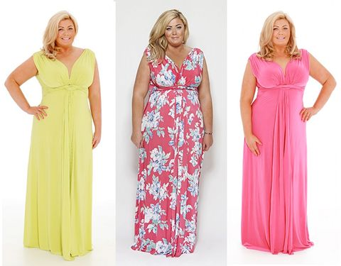 reasonable price official really comfortable Gemma Collins designs a range of maxi dresses
