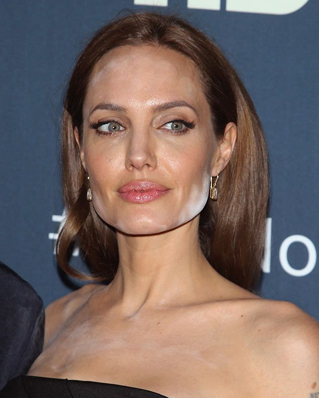Angelina Jolie\u0027s white powder makeup mishap and how to avoid it