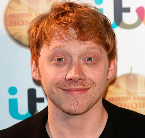 Who is ron weasley dating in real life