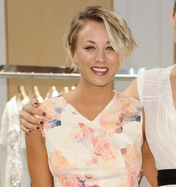 Kaley cuocos pixie crop haircut was inspired by michelle williams urmus Choice Image
