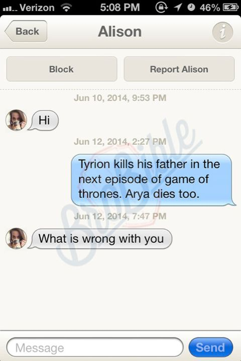 the tinder game